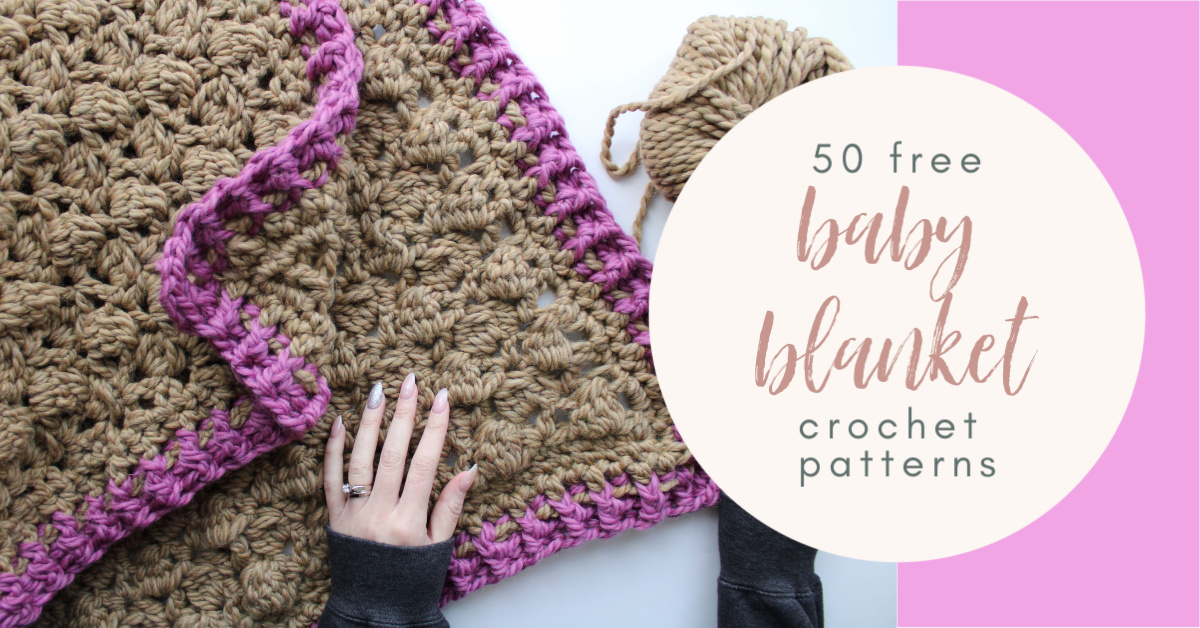 How Many Of These 50 Crochet Baby Blankets Will You Make Cococrochetlee